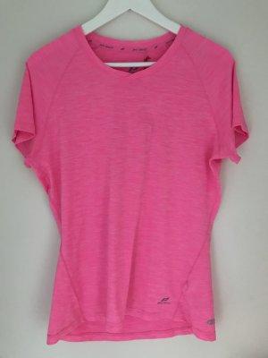 Sportshirt neonroos-roze