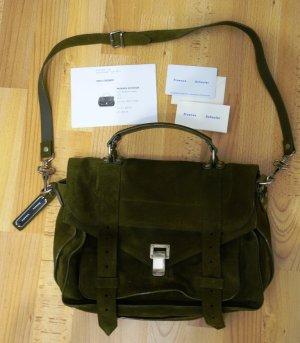 Proenza Schouler PS 1 Medium Suede Bag Tasche 100 % Leather Leder