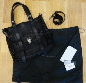 Proenza Schouler PS 1 Tote Bag schwarz Tasche Shopper Leder *rar*