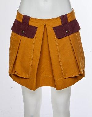Proenza schouler Miniskirt orange-brown red cotton