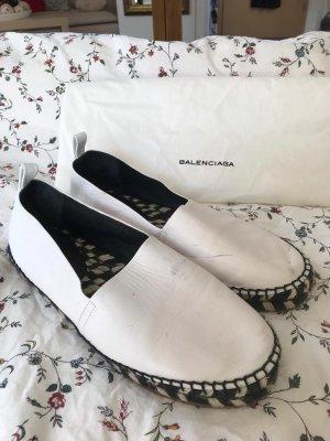 Proenza schouler Moccasins white-black leather