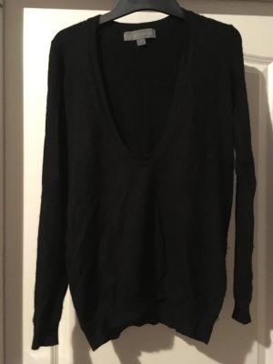 Proenza schouler V-Neck Sweater black mixture fibre