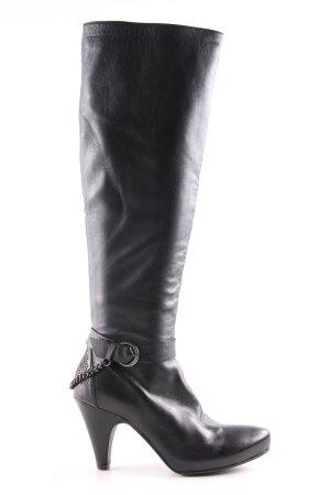 Progetto High Heel Stiefel schwarz Elegant