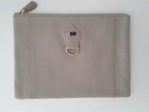 Project OONA Pochette beige clair-blanc cassé faux cuir