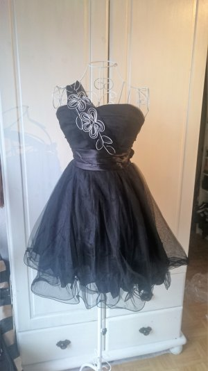 Prom Dress / kleines Schwarzes - One Shoulder Tüll