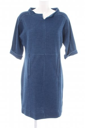 promiss Denim Dress blue flecked casual look