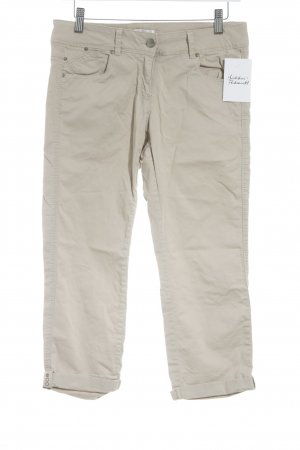 Promod 3/4 Length Trousers beige casual look