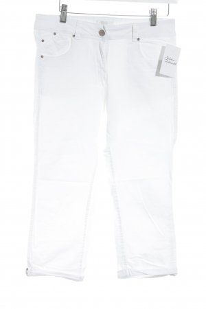 Promod 3/4 Jeans weiß schlichter Stil