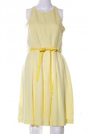 Promod A-Linien Kleid blassgelb Elegant