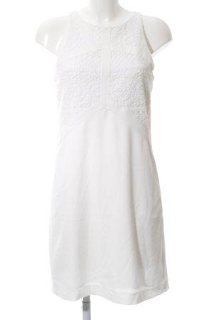 Promod A-Linien Kleid weiß Casual-Look