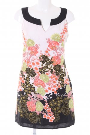 Promod A-Linien Kleid Blumenmuster Casual-Look