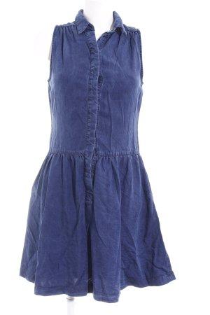 Promod A-Linien Kleid dunkelblau Casual-Look