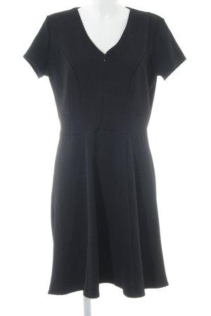 Promod A-Linien Kleid dunkelblau Romantik-Look