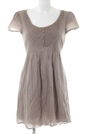Promod A-Linien Kleid graubraun Casual-Look