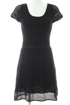 Promod A-Linien Kleid schwarz Casual-Look
