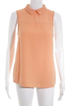 Promod ärmellose Bluse hellorange Casual-Look