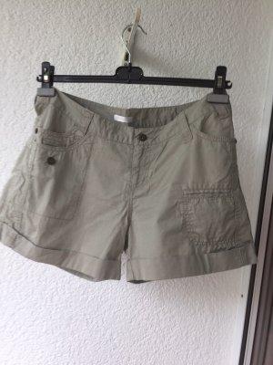 Promod Pantaloncino di jeans grigio chiaro Cotone