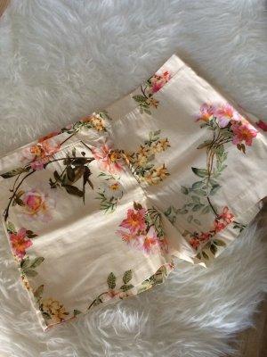 Promod Blumen Shorts cremeweiß 38 M neu geblümt flower