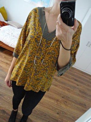 Promod Bluse Tunika Orientalisch Gemustert Geblümt Kimono