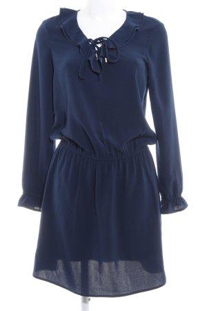 Promod Blusenkleid dunkelblau Elegant