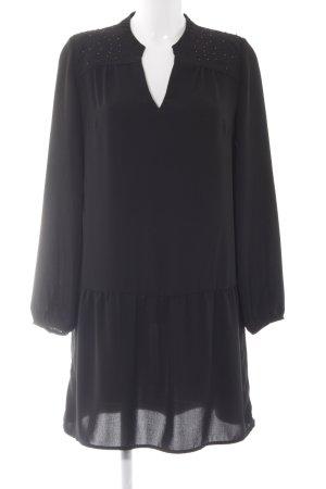 Promod Blusenkleid schwarz Casual-Look