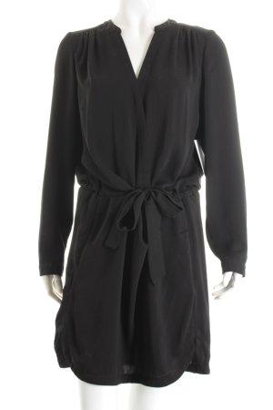 Promod Blusenkleid schwarz schlichter Stil