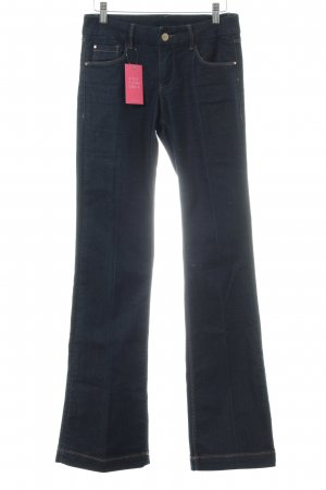 Promod Boot Cut Jeans dunkelblau Casual-Look