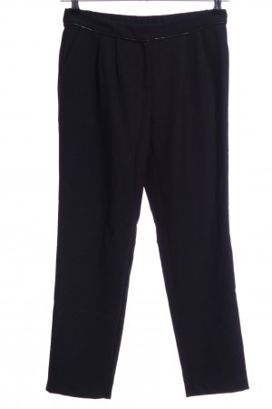 Promod Pantalone a pieghe nero stile casual