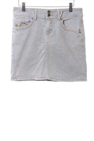 Promod Cargo Skirt light grey casual look