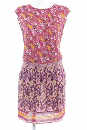 Promod Chiffon Dress floral pattern casual look