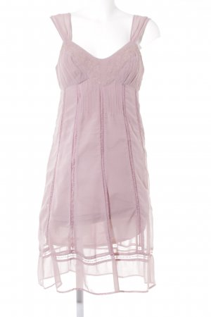 Promod Chiffonkleid roségoldfarben Romantik-Look