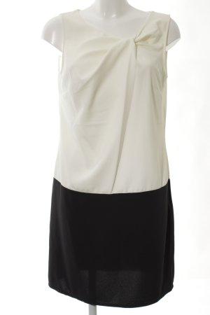 Promod Cocktailkleid creme-schwarz Farbverlauf klassischer Stil