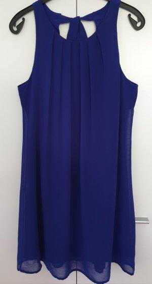 Promod Chiffon jurk donkerblauw