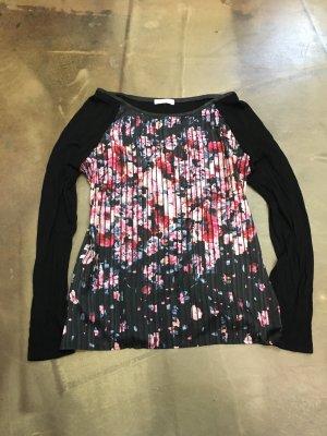 PROMOD edles langarm Shirt bluse Longsleeve Pullover gr. S