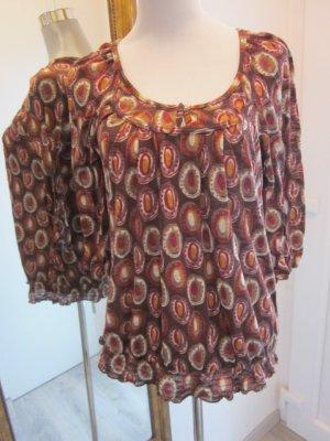 Promod Ethno Hippie Shirt Langarm Gr M
