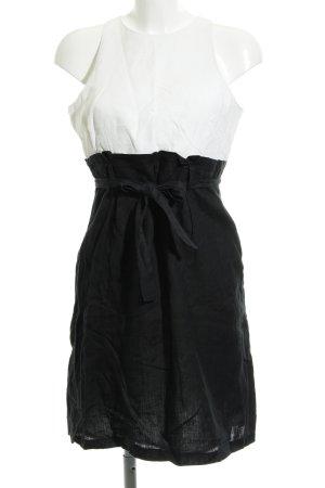 Promod Etuikleid schwarz-wollweiß Elegant
