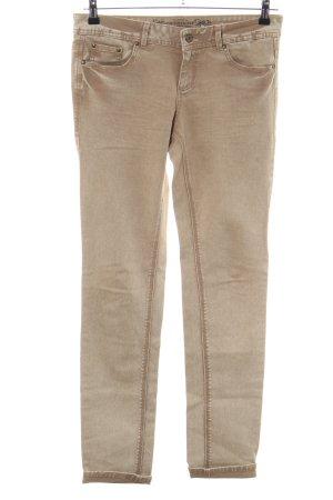 Promod Pantalón de cinco bolsillos marrón look casual