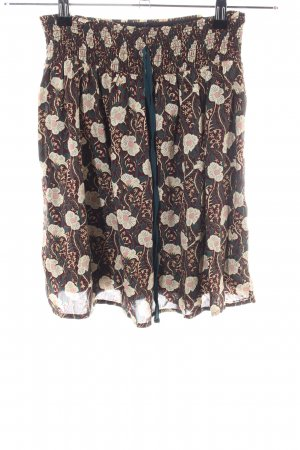 Promod Flared Skirt allover print casual look