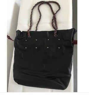 Promod Sac Baril noir faux cuir