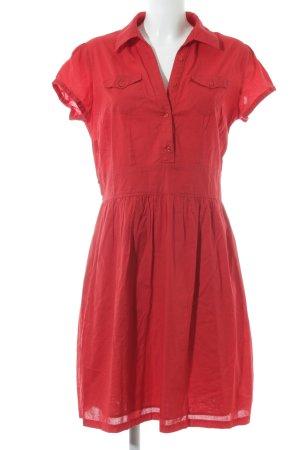 Promod Abito blusa camicia rosso elegante