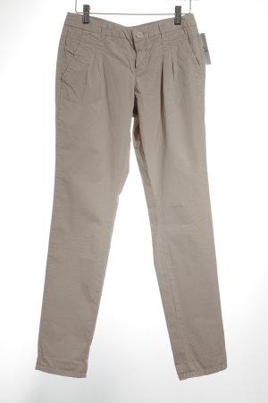 Promod pantalón de cintura baja beige look casual