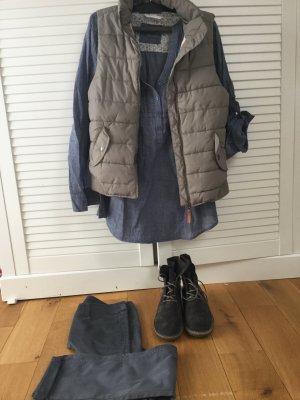 Promod Jeansblau Tunika Bluse