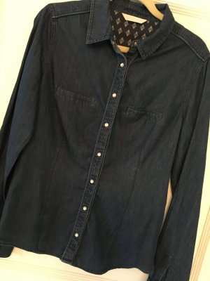 Promod Jeansbluse blau Gr. 38 / M