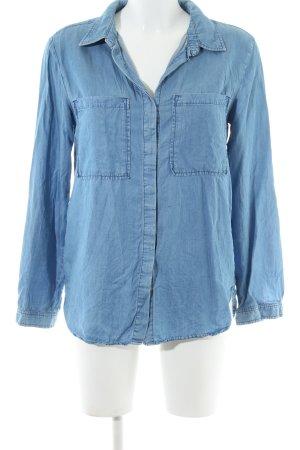 Promod Chemise en jean bleu style décontracté