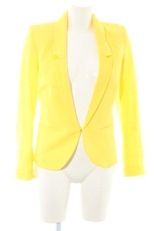 Promod Jersey blazer geel casual uitstraling