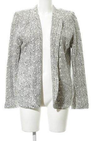 Promod Jersey Blazer blanco-gris pizarra look casual