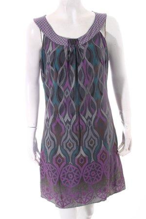 Promod Kleid abstraktes Muster Casual-Look