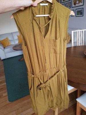 promod kleid gr. 40 olivgrün