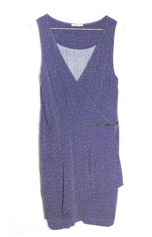 Promod Kleid m 36 38 Blau Punkte