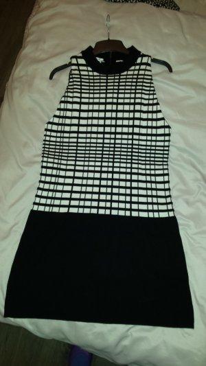 PROMOD Kleid Retro-Style Schwarz-Weiß Gr. XL (eh L/40) *neu*
